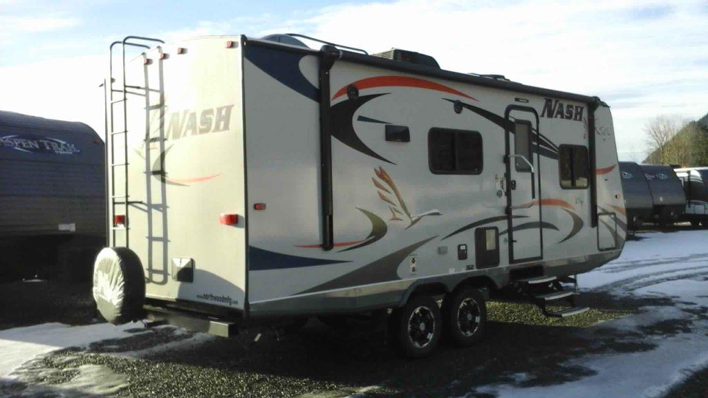 New 2018 Northwood Nash 23 D Travel Trailer 547422