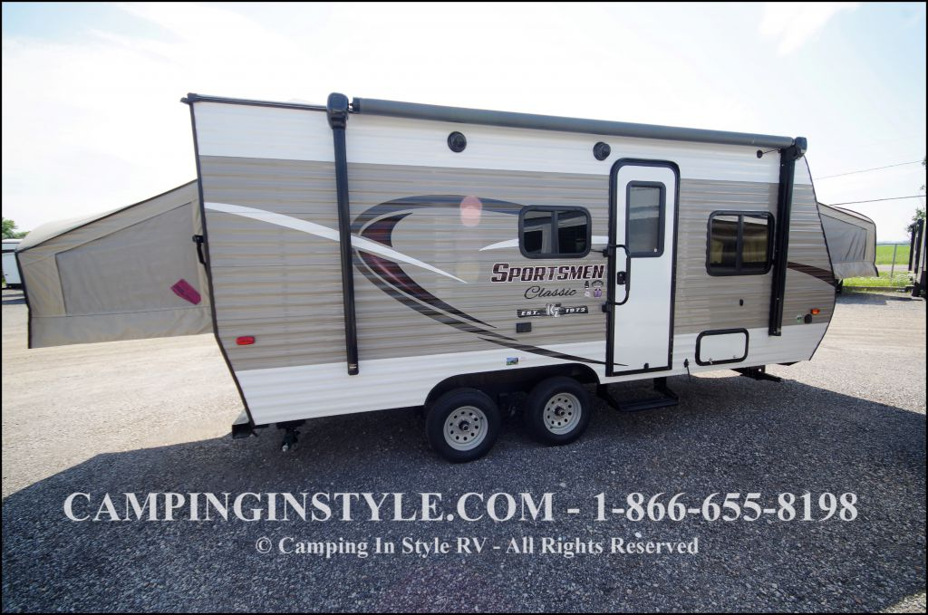 2018 K-Z INC. SPORTSMEN CLASSIC 180RBT (bunks)