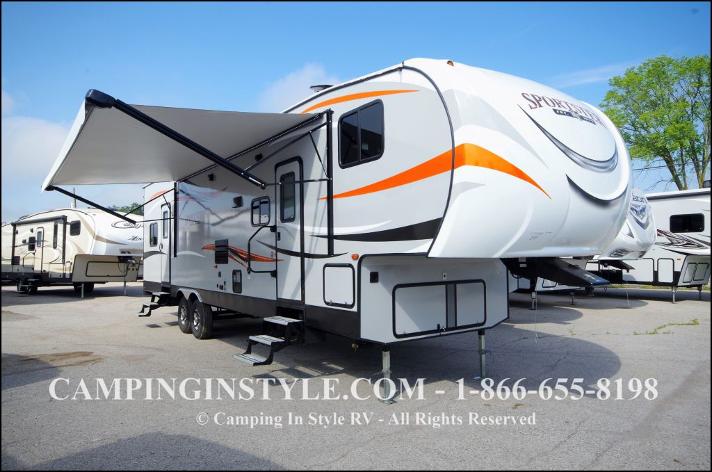 2018 K-Z INC. SPORTSTER 331TH12 (bunks)
