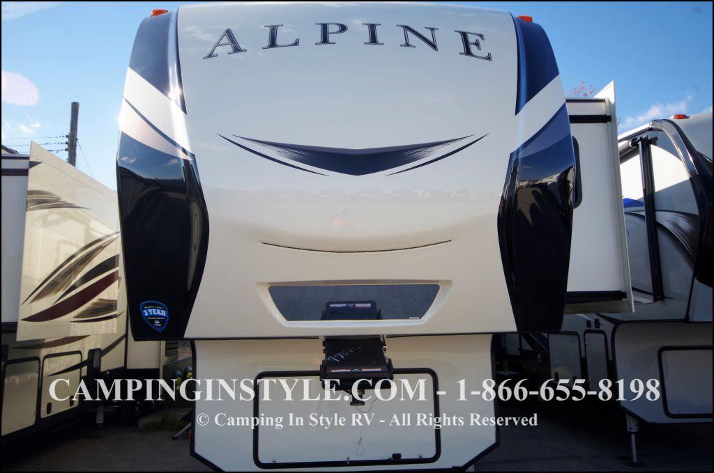 2018 KEYSTONE ALPINE 3650RL (couples)