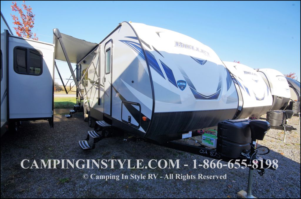 2018 KEYSTONE BULLET 248RKS (couples)