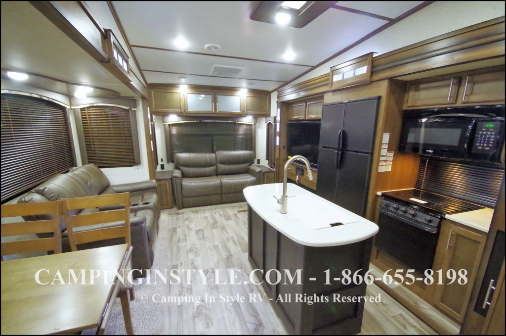 2018 KEYSTONE COUGAR 368MBI (bunks)