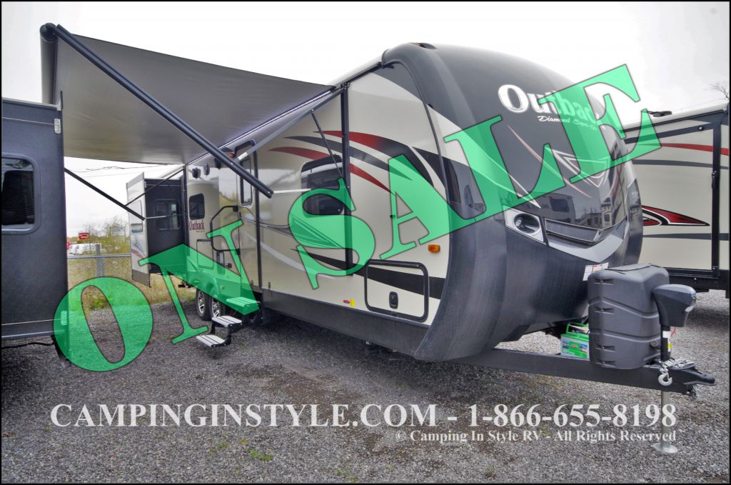 2016 KEYSTONE OUTBACK 298RE (couples) DEMO