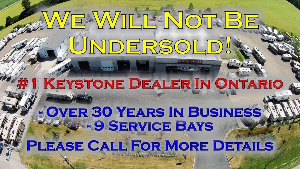 2018 KEYSTONE BULLET CROSSFIRE 2200BH (bunks) - Image 2