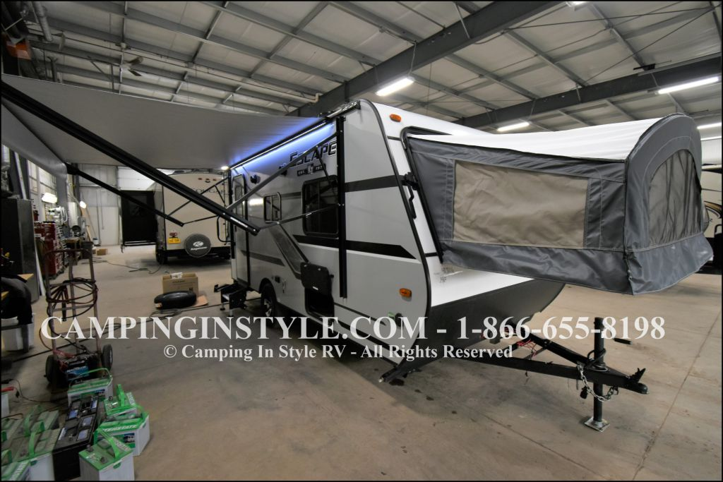 2020 K-Z INC. ESCAPE 160RBT (bunks)