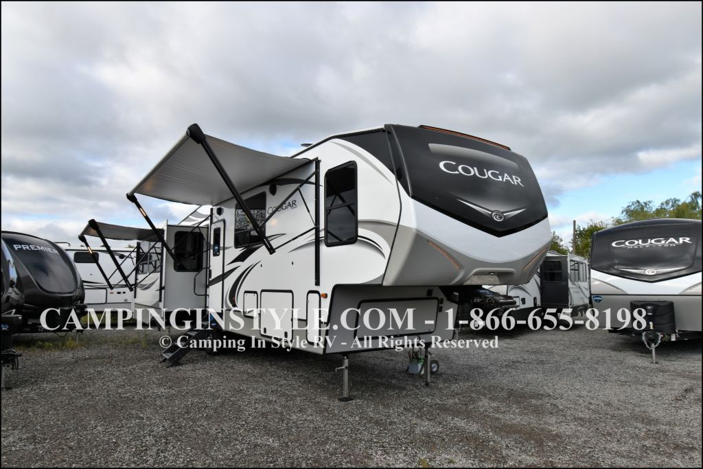 Cougar Fifth Wheels - Camping in Style