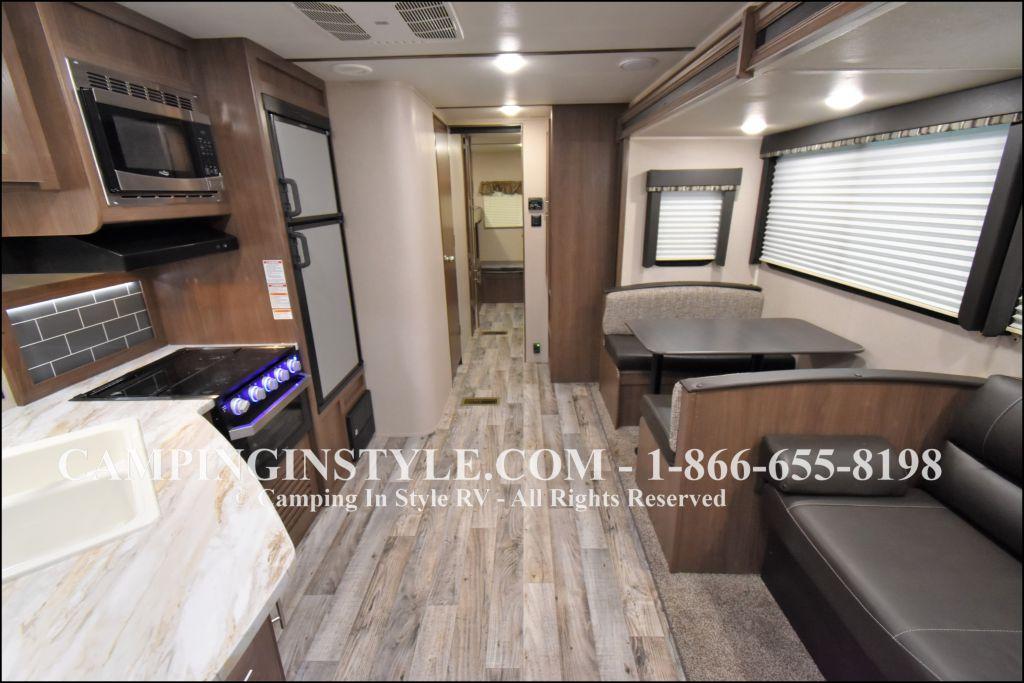 2019 KEYSTONE HIDEOUT LHS 318LHS (bunks) - Image 3