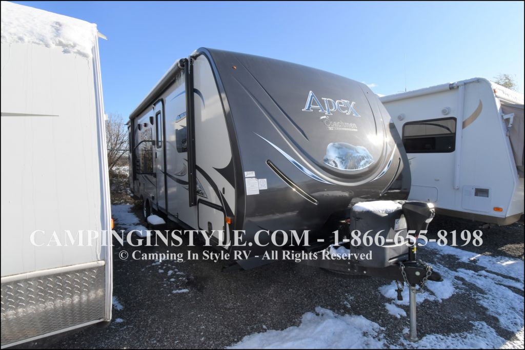 2015 COACHMEN APEX 249RBS (couples)