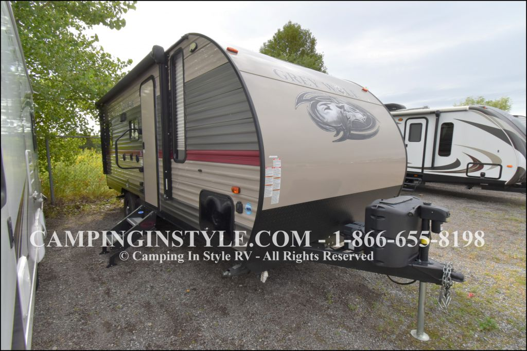2018 FOREST RIVER GREY WOLF 20RDSE (couples)