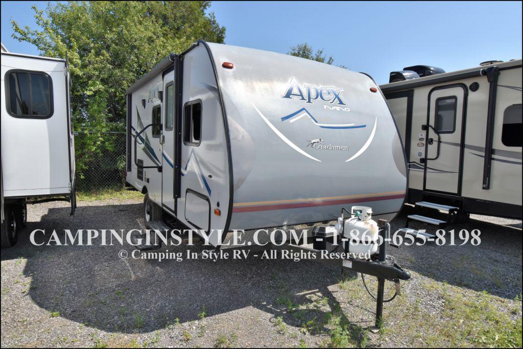 2018 COACHMEN APEX NANO 193BHS (bunks)