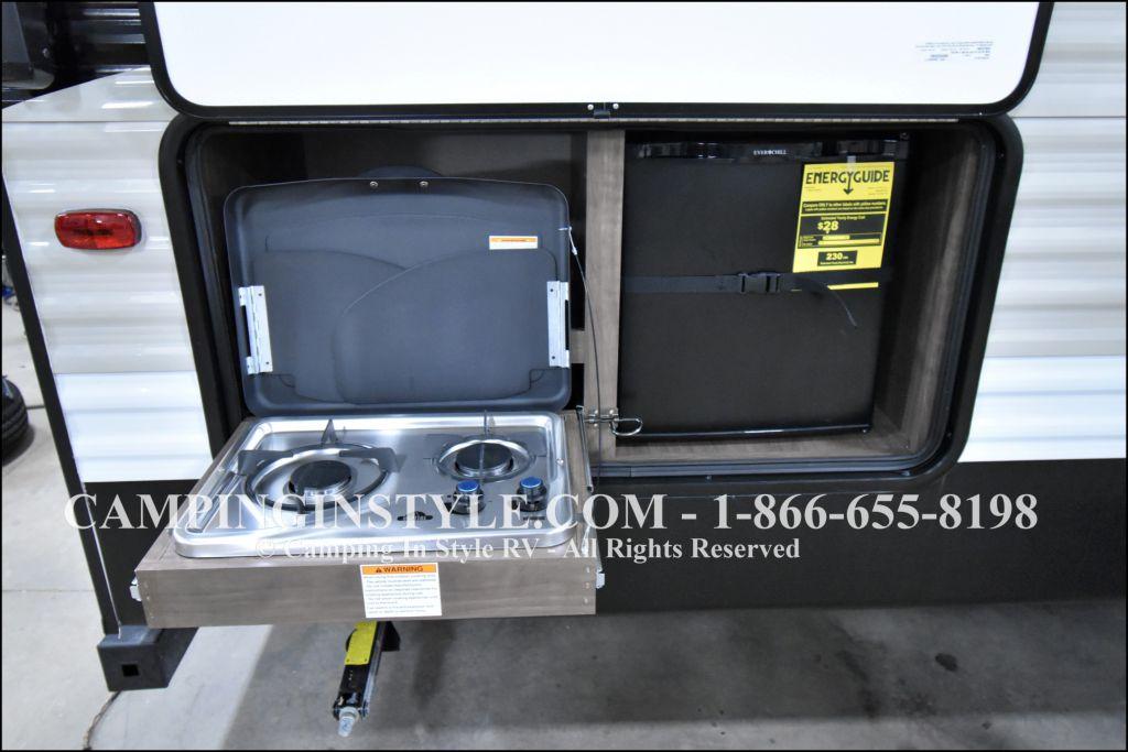 2019 KEYSTONE HIDEOUT 29DFS (bunks) - Image 16