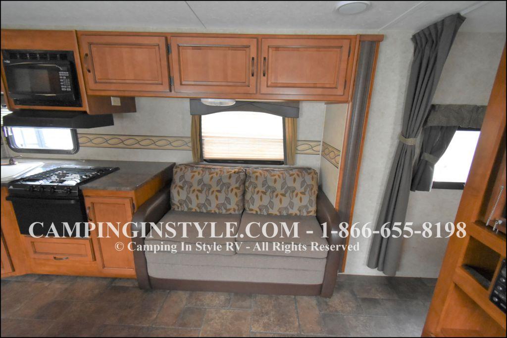2012 KEYSTONE RV BULLET 286QBS (bunks) - Image 7