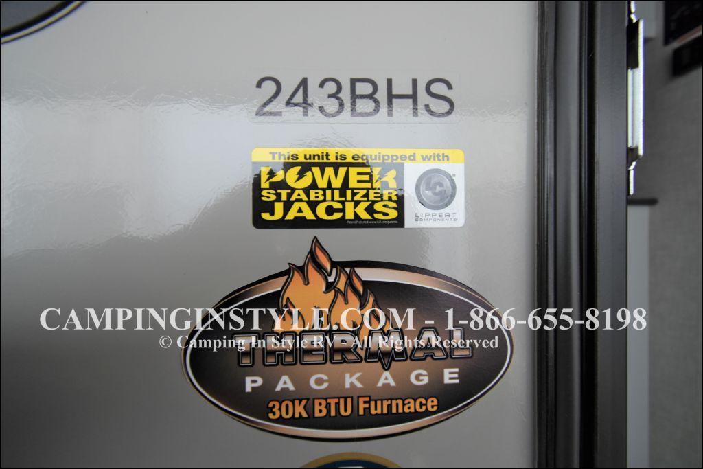 2020 KEYSTONE BULLET 243BHS (bunks) - Image 24