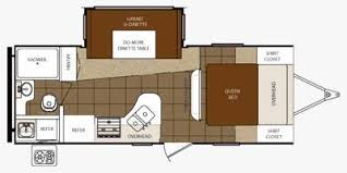 2012 PRIMETIME TRACER 230FBS (couples) Floorplan