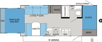 2011 JAYCO JAYFEATHER X213 (bunks) Floorplan