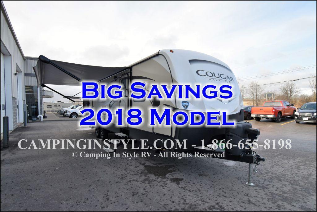 2018 KEYSTONE COUGAR HALF-TON 32RDB (bunks)