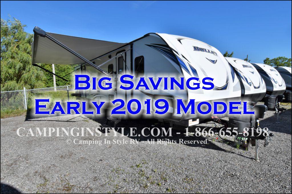 2019 KEYSTONE BULLET 308BHS (bunks)
