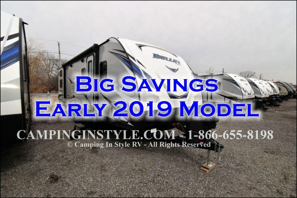 2019 KEYSTONE BULLET 287QBS (bunks)