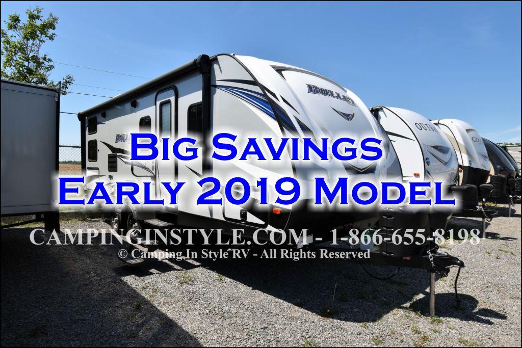 2019 KEYSTONE BULLET 243BHS (bunks)