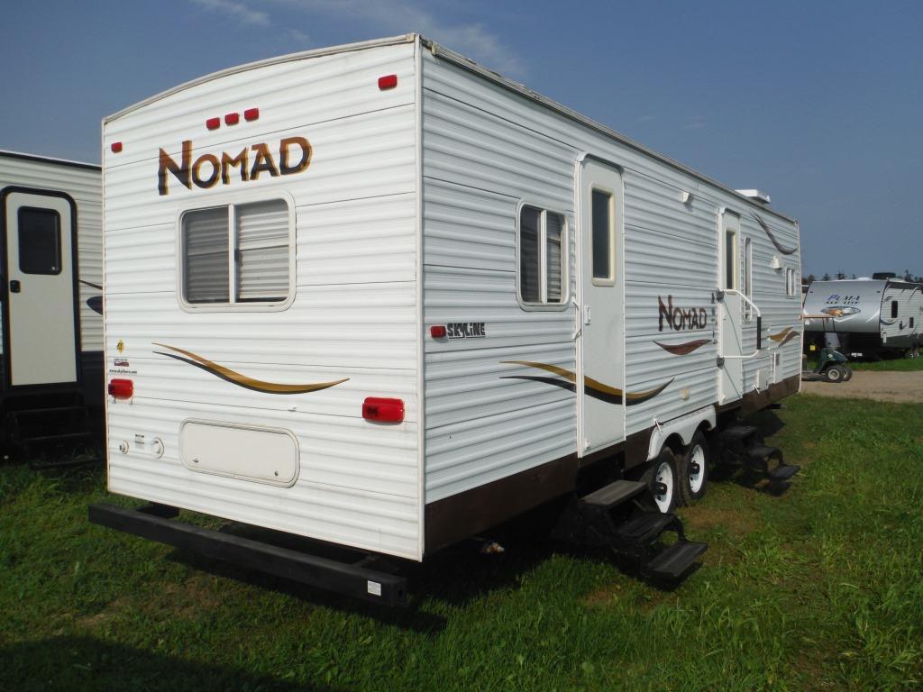 used 2007 skyline nomad 2900 travel trailer