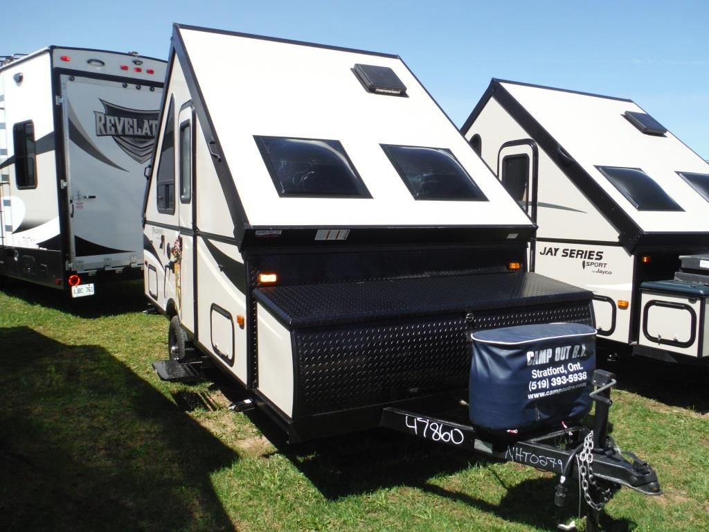 Frontal View of a 2016 PALOMINO Camping Trailer, A12 ST