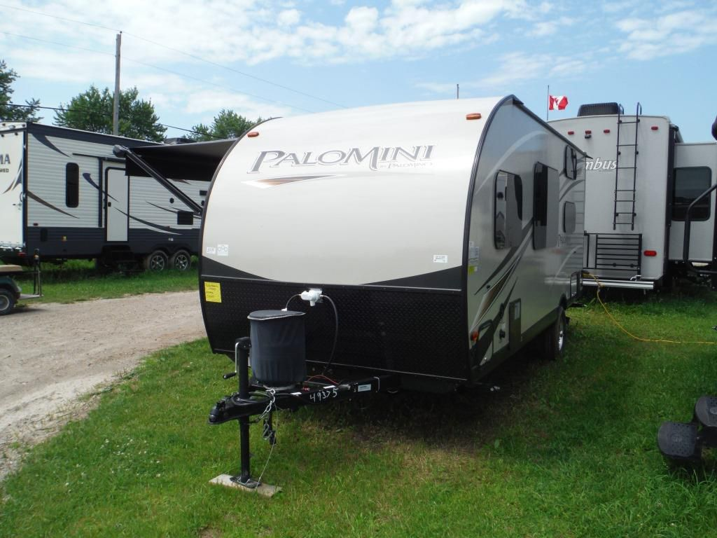 Campers For Sale Ontario >> NEW 2018 PALOMINO PALOMINI 177BH TRAVEL TRAILER - Stratford | RVHotline RV Trader