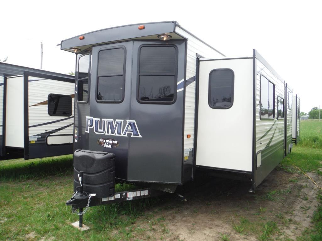 New 2018 Palomino Puma 39bht Park Model 493584 Rvhotline Rv Trader