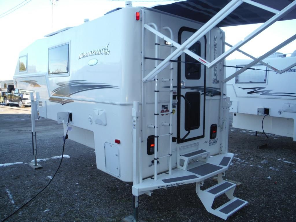 Frontal View of a 2019 NORTHERN LITE 10'2
