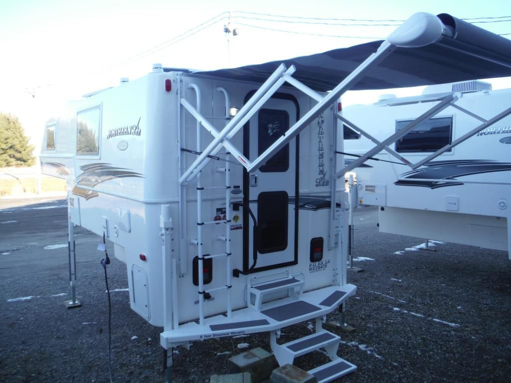 Frontal View of a 2019 NORTHERN LITE 8'11 EX, Limited Edition