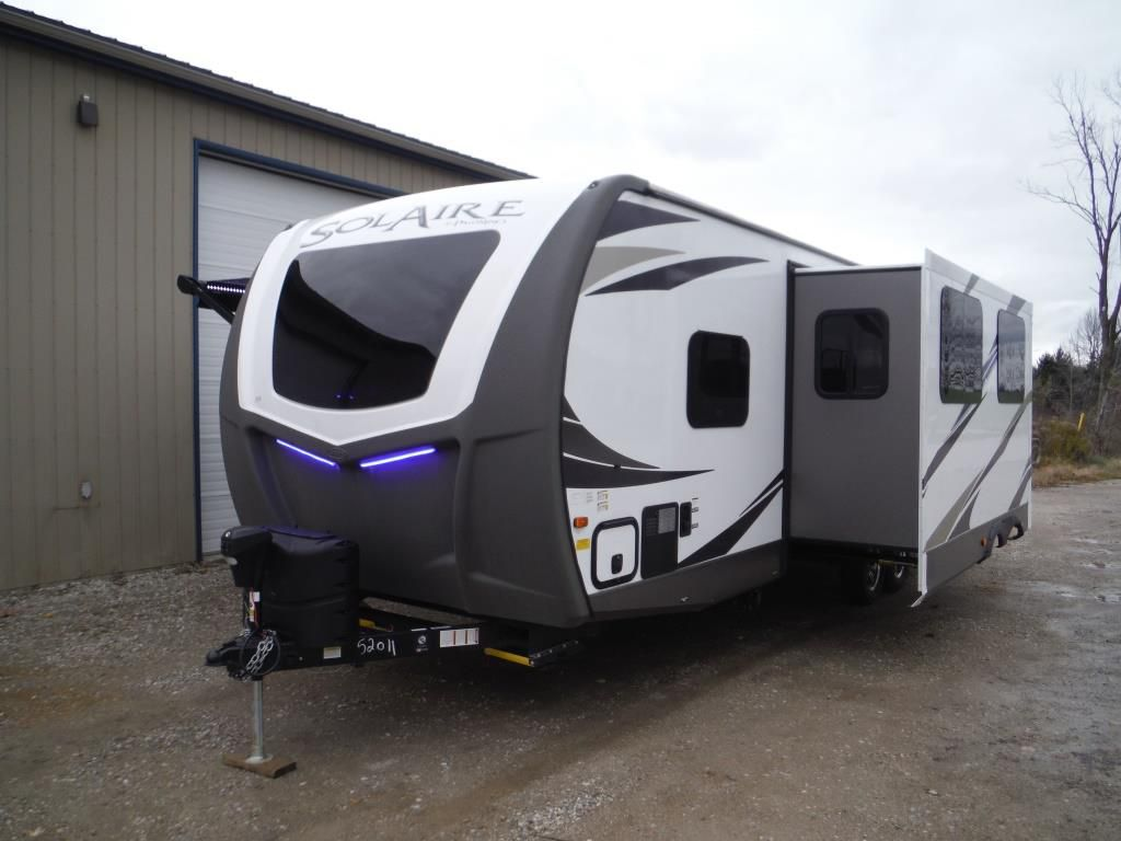 NEW 2019 PALOMINO SOLAIRE 258RBSS GT3 TRAVEL TRAILER ...