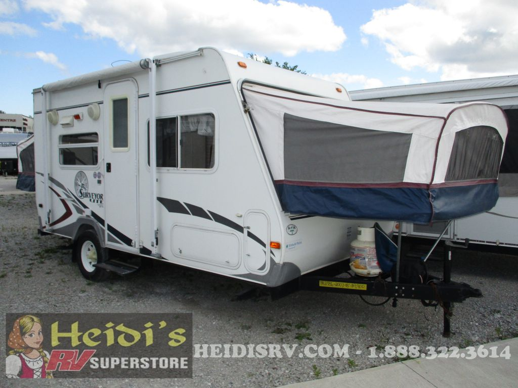 2007 SURVEYOR FOREST RIVER SL18T