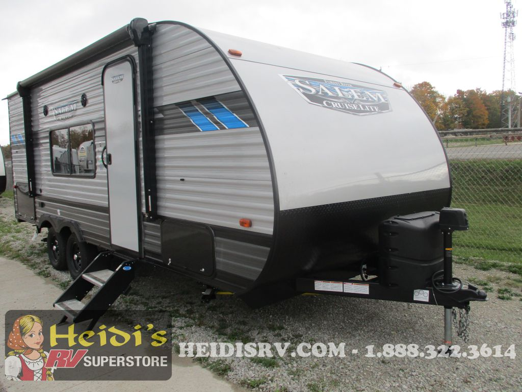 2022 FOREST RIVER SALEM CRUISE LITE 19DB XL (MURPHY BED, BUNKS, OUT. KIT)
