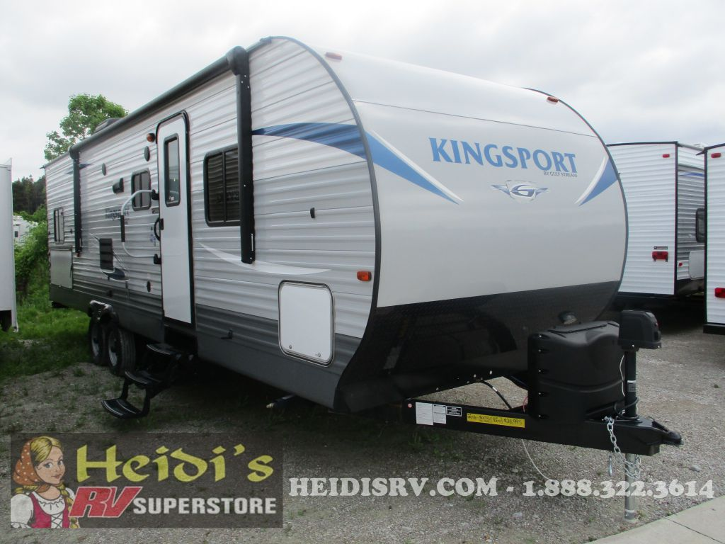 2018 KINGSPORT GULF STREAM 301TB - QUAD BUNKS, OUTSIDE KITCHEN - Image 1