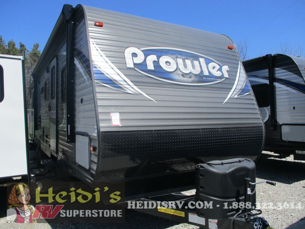 2019 PROWLER HEARTLAND LYNX 32LX (QUAD BUNKS, OUTSIDE KITCHEN)