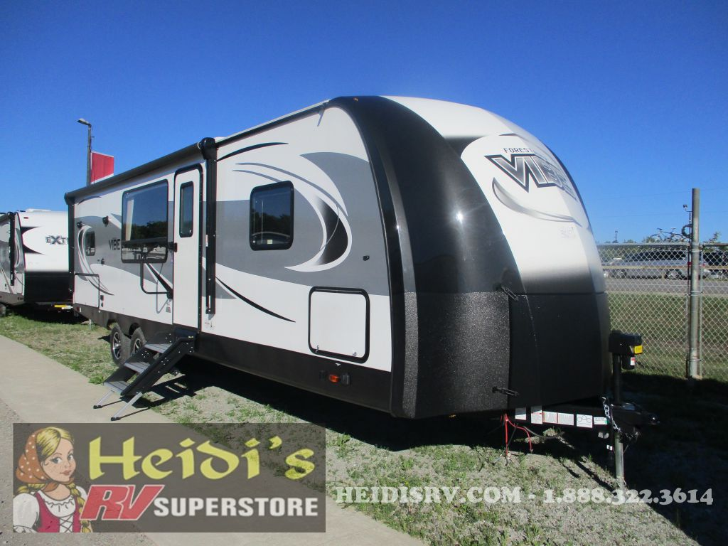 2019 VIBE FOREST RIVER 268RKS - OUTSIDE KITCHEN