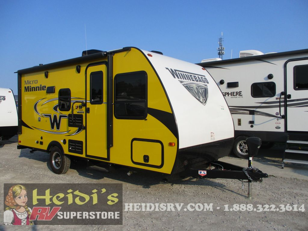 2019 WINNEBAGO WINNEBAGO MICRO MINNIE 1700BH - BUNKS (YELLOW)