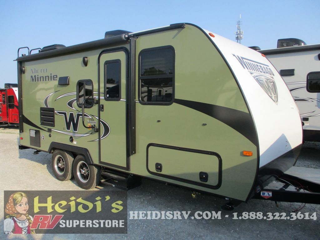 2019 WINNEBAGO WINNEBAGO MICRO MINNIE 2106DS (HUNTER GREEN) - MURPHY BED