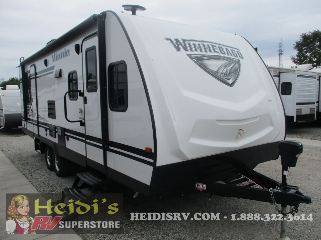 2019 WINNEBAGO WINNEBAGO MINNIE 2500FL (WHITE)