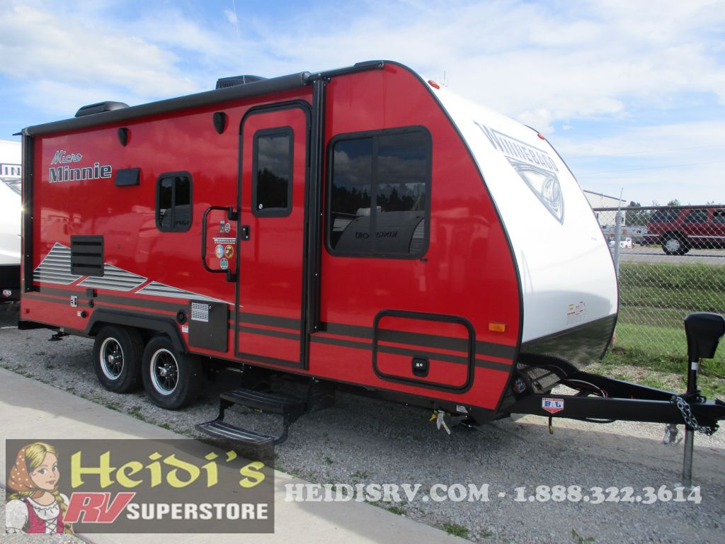 2019 WINNEBAGO WINNEBAGO MICRO MINNIE 2100BH - BUNKS (RED)