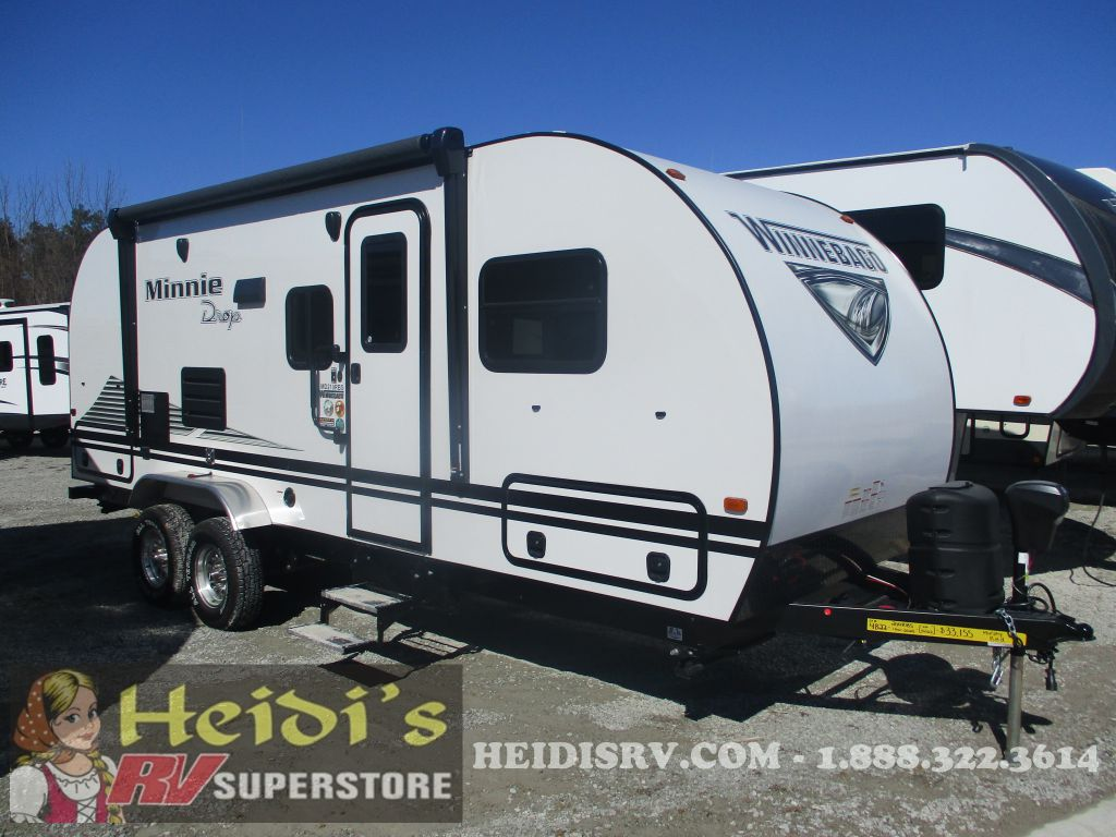 2020 WINNEBAGO WINNEBAGO MINNIE DROP 210RBS (WHITE, OUTSIDE KITCHEN)
