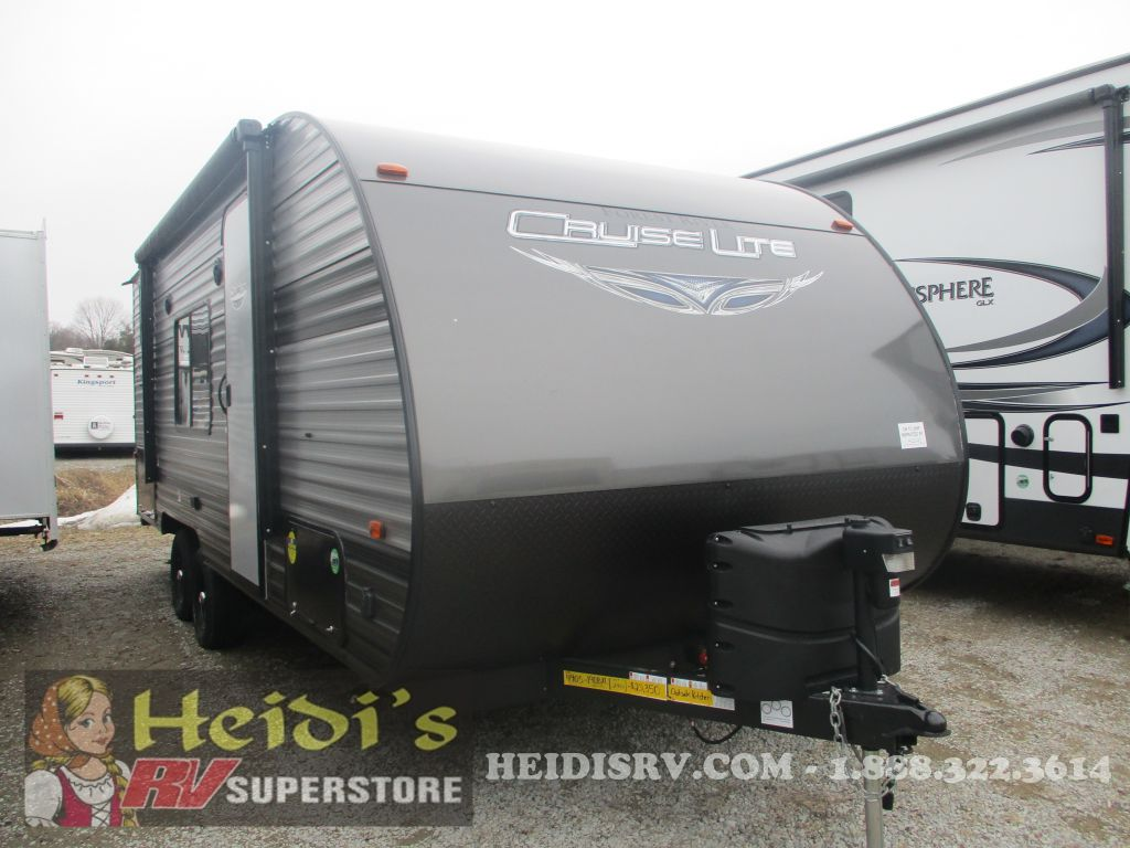 2019 SALEM FOREST RIVER CRUISE LITE 19DB XL - BUNKS, MURPHY BED, OUT. KIT.