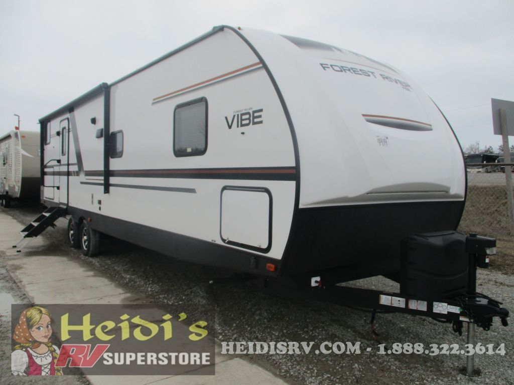 2020 VIBE FOREST RIVER 29BH (DBL/DBL BUNKS, OUTSIDE KITCHEN)