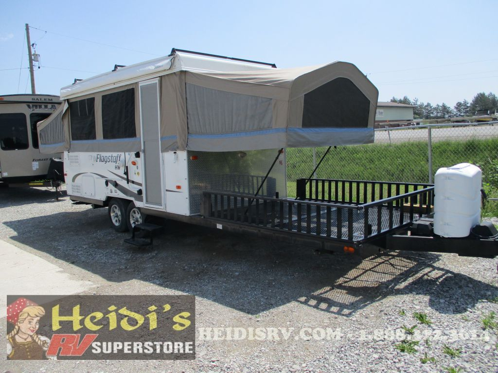 Included Options for this HW31SCTH - TOY HAULER & 2013 FLAGSTAFF HW31SCTH - TOY HAULER Tent Trailer... on Heidiu0027s ...