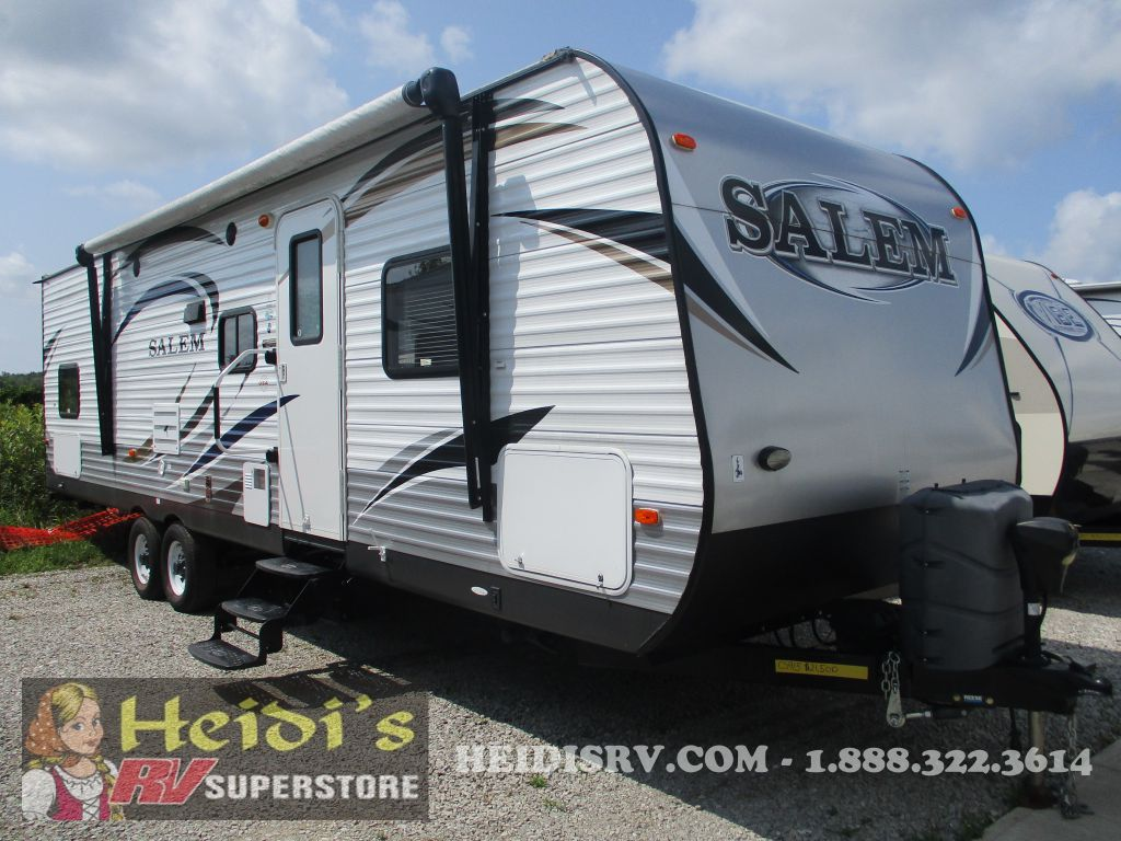 2015 SALEM FOREST RIVER 30QBSS - QUAD BUNKS
