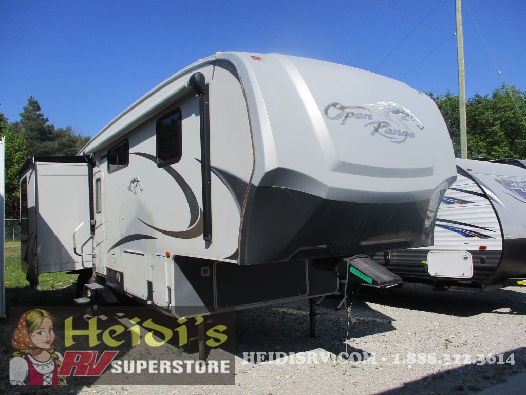 2009 OPEN RANGE HIGHLAND RV 337RLS