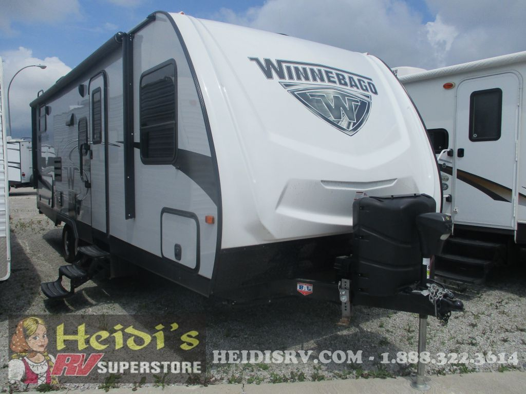 2019 WINNEBAGO WINNEBAGO MINNIE 2455BHS - BUNKS, OUTSIDE KITCHEN
