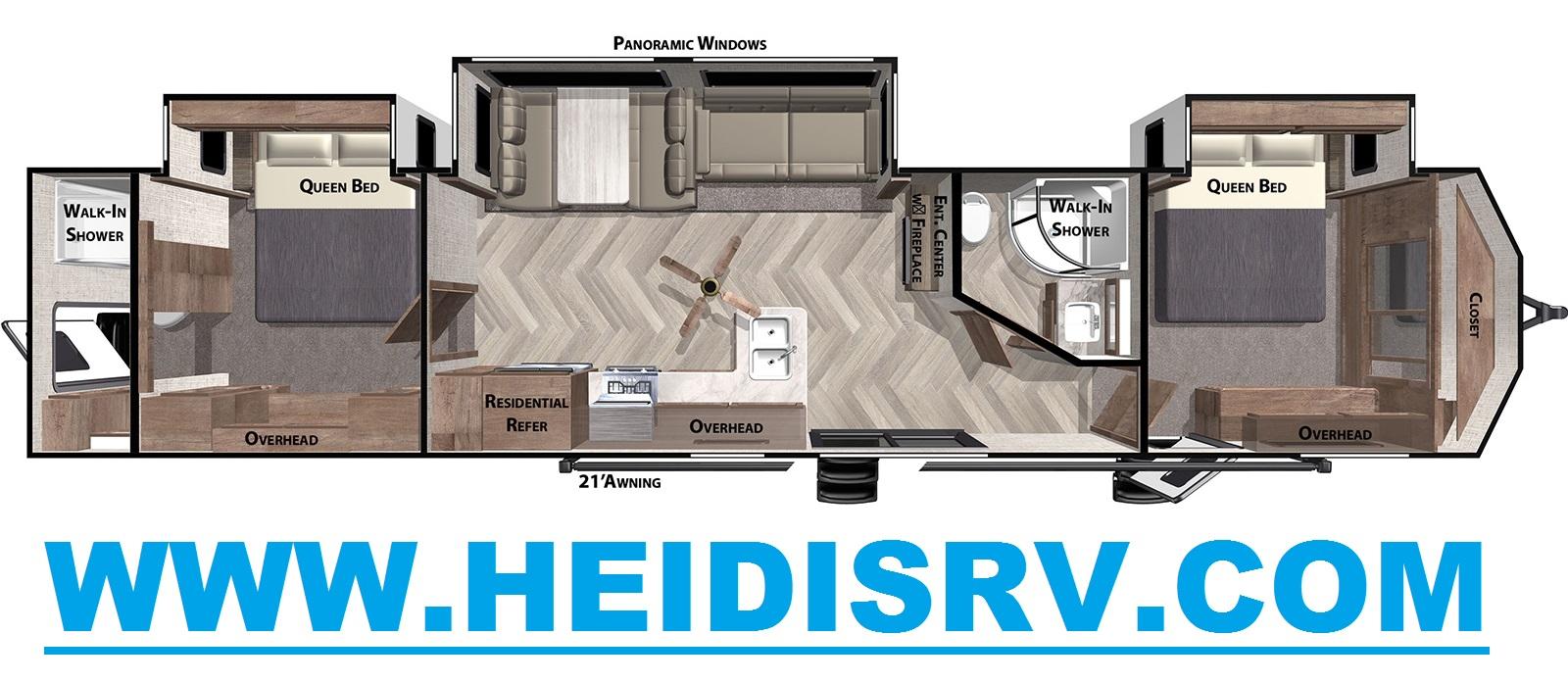2 Queen Beds Inventory Heidi S Rv Centre