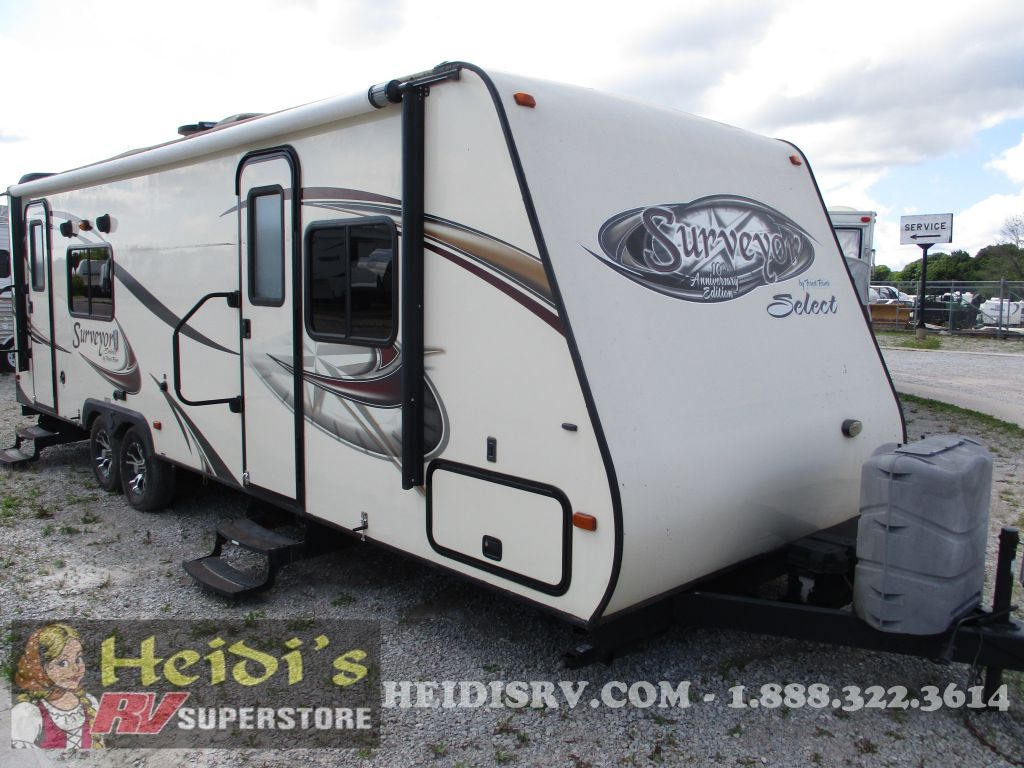 2012 SURVEYOR FOREST RIVER 264SVT
