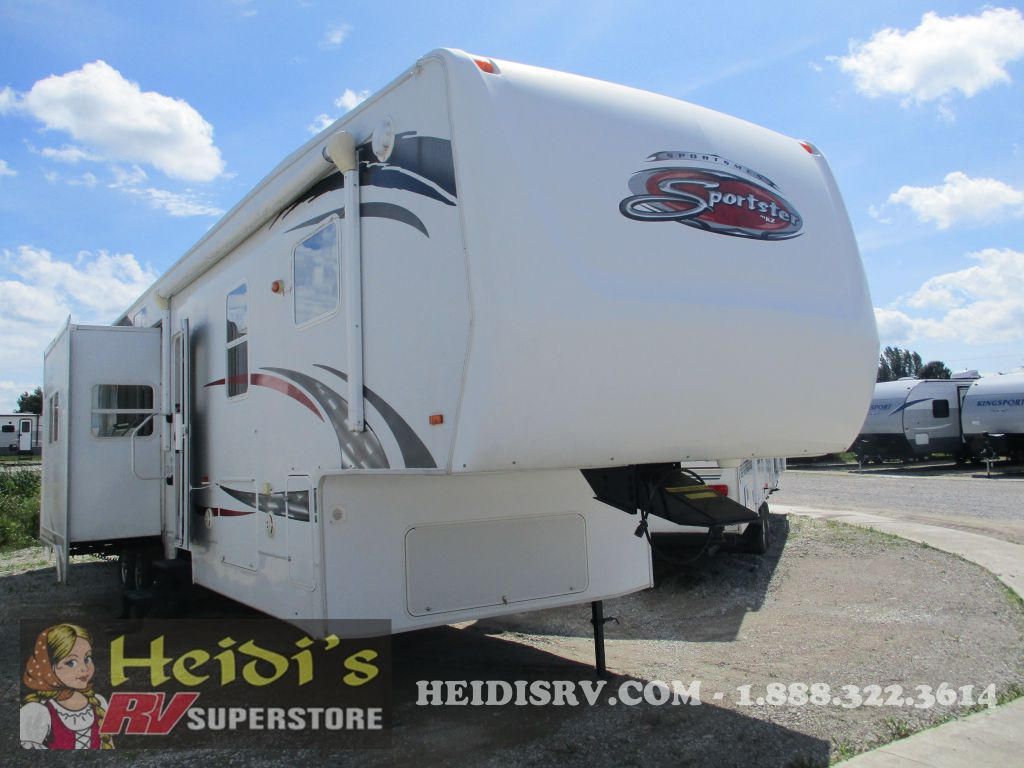Our Rv Inventory Heidis Centre 1993 Dutchman Camper 12 Volt Wiring Diagram 2008 K Z Inc Sportsmen Sportster 38p 5th Wheel
