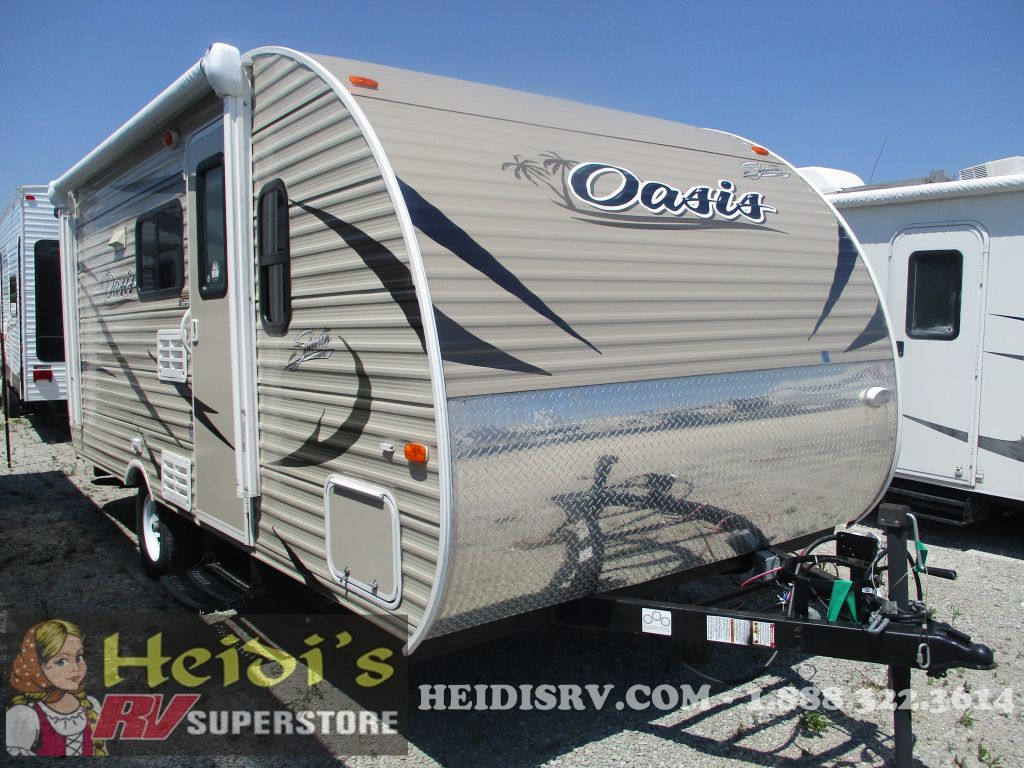 2017 SHASTA FOREST RIVER OASIS 18BH - BUNKS